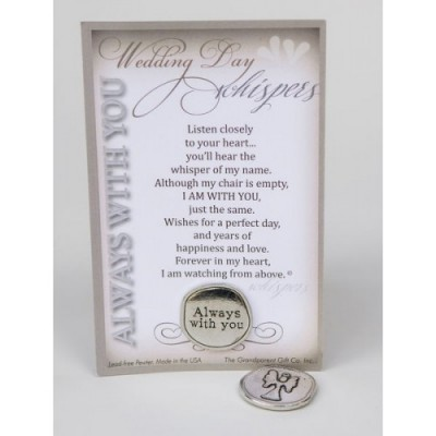 Wedding Day Whispers Verse Card & Token