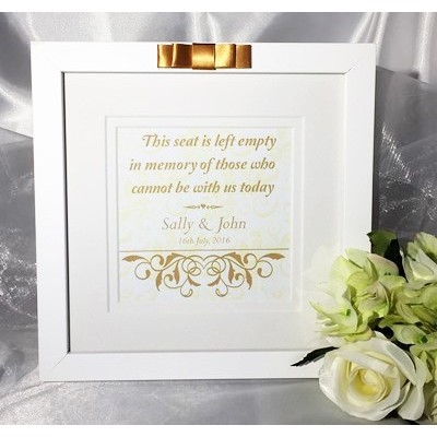 Traditional Gold Wedding Ceremony Seat Frame