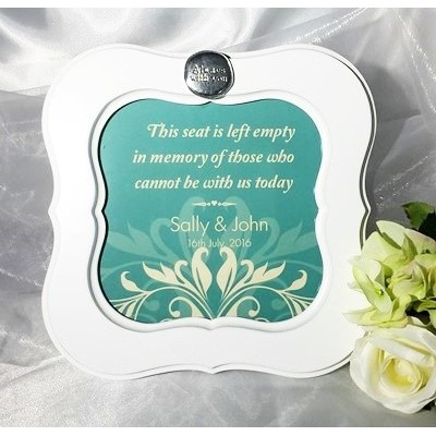 Contemporary Wedding Ceremony Seat Frame